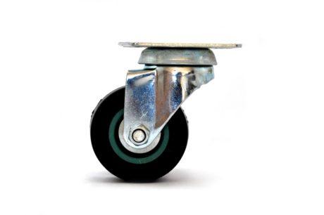 1 – Castor 50mm Soft Wheel Plate – Grey 35kg – pic1