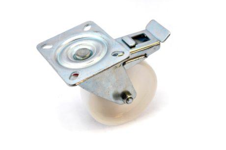 4 – 100mm Nylon Plate Brake Castor – pic2
